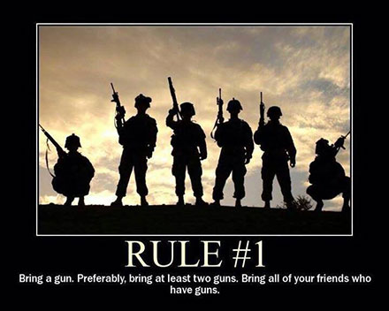 Rules For a Gunfight Picture The First Rule of a Gunfight